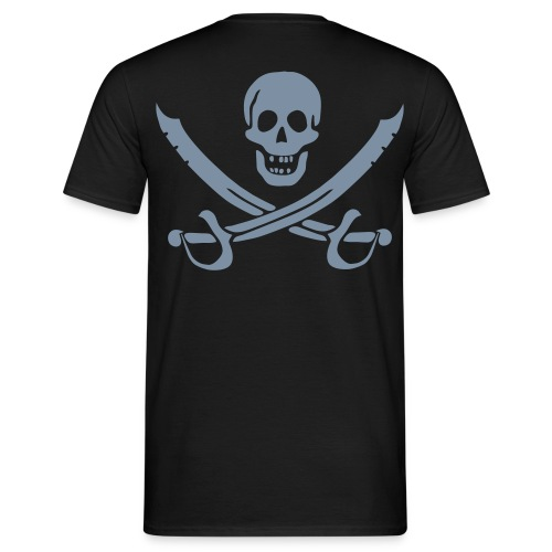 Silver Pirate - Männer T-Shirt