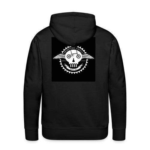 Sweat à capuche homme impression dos - Sweat-shirt à capuche Premium pour hommes