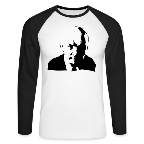 lenin-front - Men's Long Sleeve Baseball T-Shirt