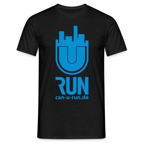 U RUN Front Herren - Männer T-Shirt