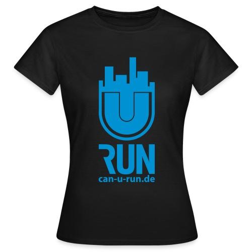 U RUN Front Damen - Frauen T-Shirt