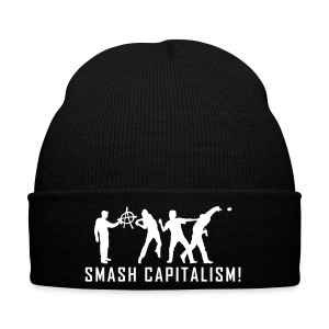 evolution_capitalism1 Caps & Mützen - Wintermütze