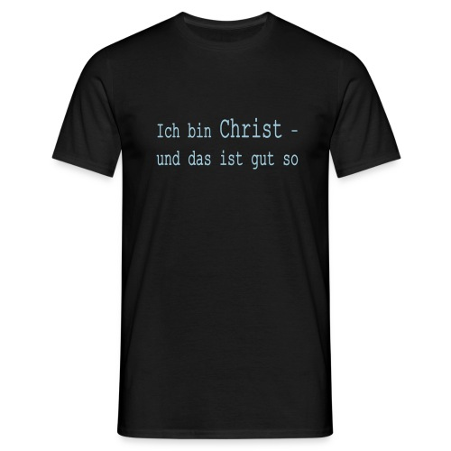 gut so (hellblau) - Männer T-Shirt