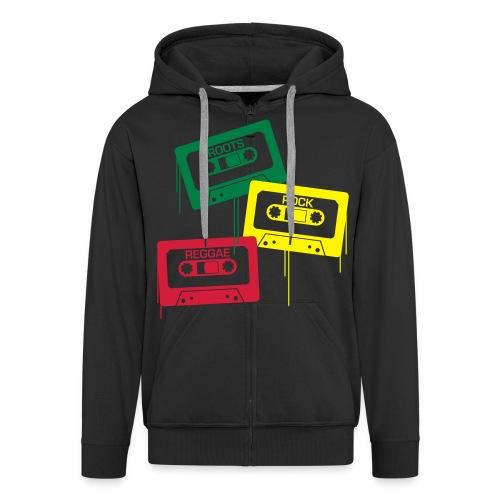 Men's Hoodie Reggae - Men's Premium Hooded Jacket