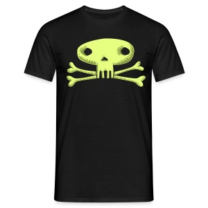 lime green skull T-Shirts - Men's T-Shirt