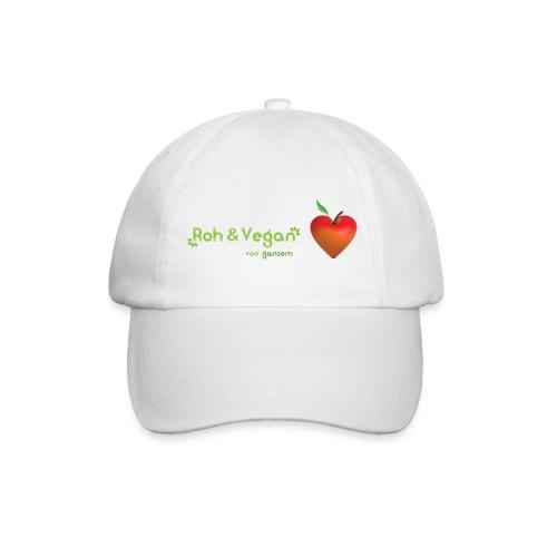 Roh & vegan von ganzem Herzen (Rohkost Vegan) - Baseballkappe