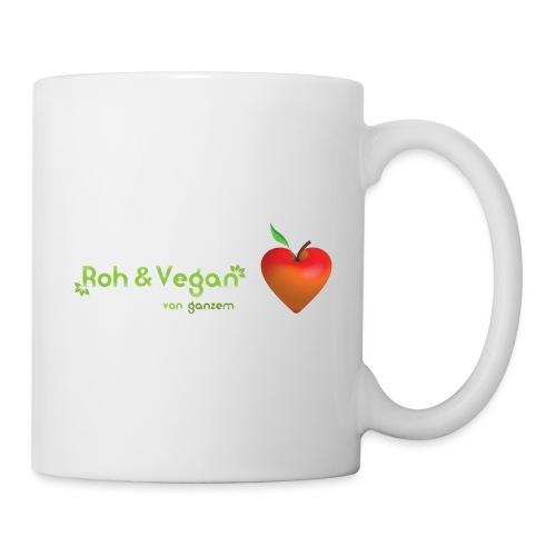 Roh & vegan von ganzem Herzen (Rohkost Vegan) - Tasse