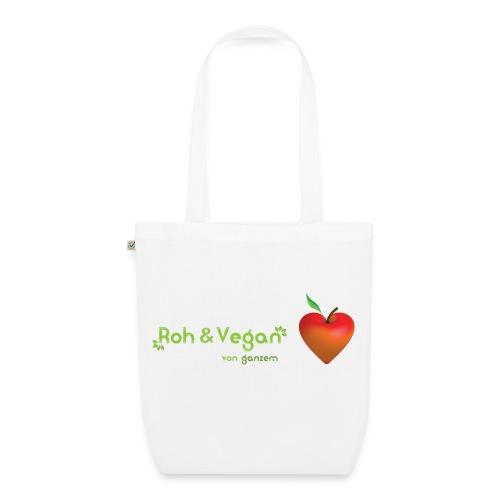 Roh & vegan von ganzem Herzen (Rohkost Vegan) - Bio-Stoffbeutel