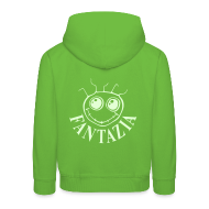 Hoodies ~ Kids' Premium Hoodie ~ Fantazia Kids Hoodie with glow in the dark logos front and back