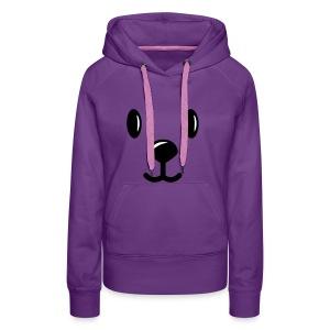 bear sweater - Vrouwen Premium hoodie