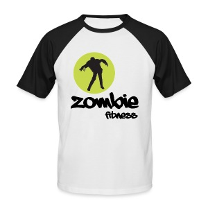 Zombie Fitness - Men's Baseball T-Shirt