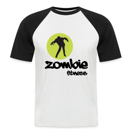 Zombie Fitness - Men's Baseball T-Shirt