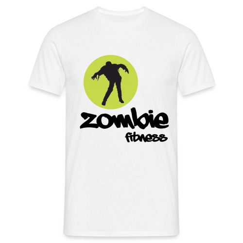 Zombie Fitness - Men's T-Shirt