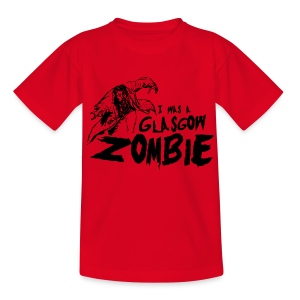 Glasgow Zombie - Teenage T-shirt