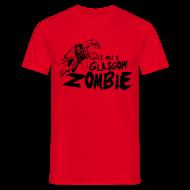 T-Shirts ~ Men's T-Shirt ~ Glasgow Zombie