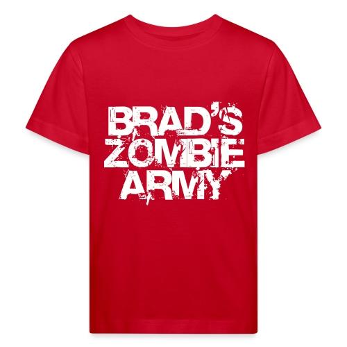 Brad's Zombie Army - Kids' Organic T-Shirt