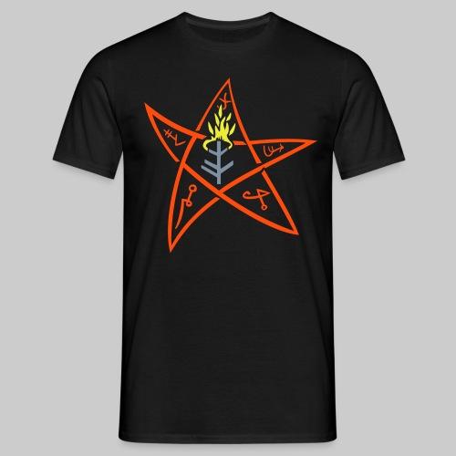 MTE: The Elder sign according to August Derleth description - Men's T-Shirt