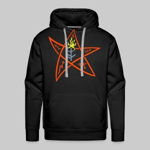 MPK: The Elder sign according to August Derleth description - Men's Premium Hoodie