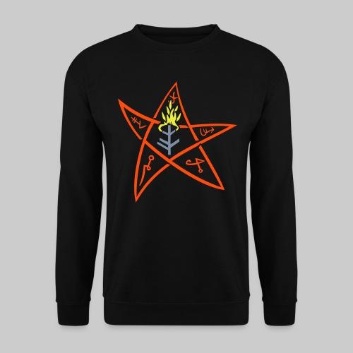 MPU: The Elder sign according to August Derleth description - Men's Sweatshirt