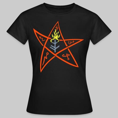 FTE: The Elder sign according to August Derleth description - Women's T-Shirt