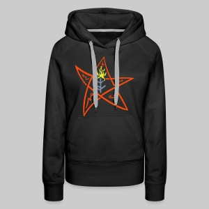 FPK: The Elder sign according to August Derleth description - Women's Premium Hoodie