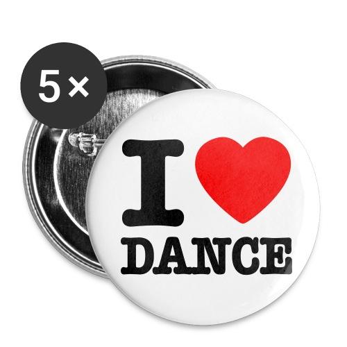 Buttons groß 56 mm - dance