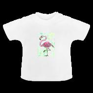 Baby T-shirts ~ Baby T-shirt ~ Flamingo