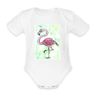 Baby-bodyer ~ Baby body ~ Flamingo