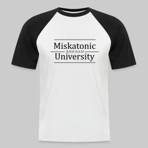 MBB: Miskatonic University - Arkham - Men's Baseball T-Shirt