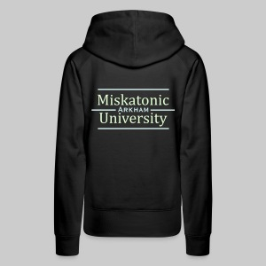 FPKv2: Miskatonic University - Arkham (glow in the dark) - Women's Premium Hoodie