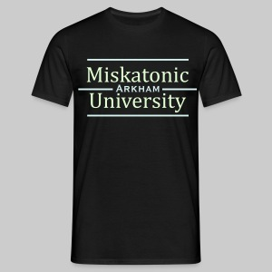 MTEv2: Miskatonic University - Arkham (glow in the dark) - Men's T-Shirt