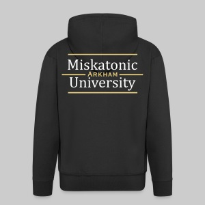 MJKv1: Miskatonic University - Arkham - Men's Premium Hooded Jacket