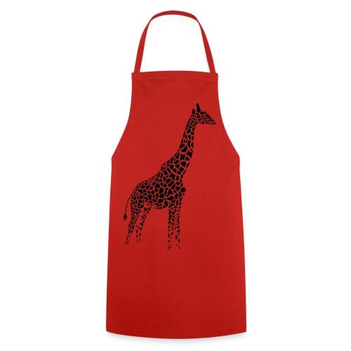 schürze kochschürze grill schürze giraffe girafe afrika serengeti savanne tier wild - Kochschürze