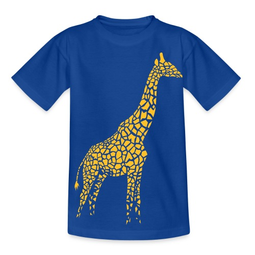 t-shirt giraffe girafe afrika serengeti savanne tier wild - Teenager T-Shirt
