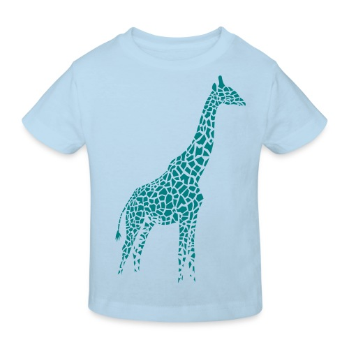 t-shirt giraffe girafe afrika serengeti savanne tier wild - Kinder Bio-T-Shirt