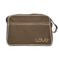 Bags & Backpacks ~ Retro Bag ~ LÖVE Bag Brown