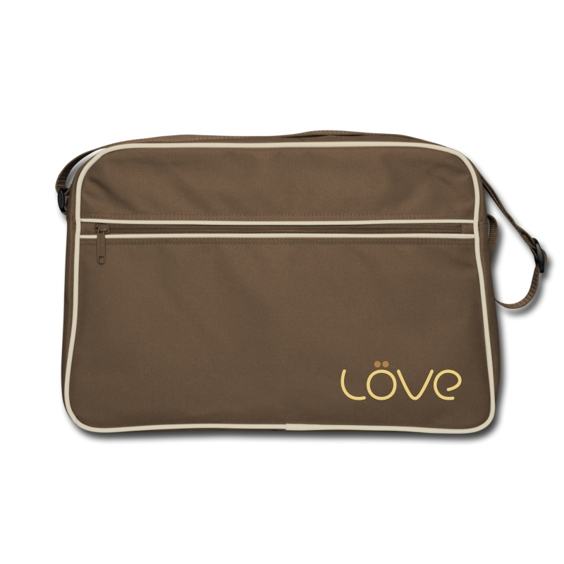LÖVE Bag Brown - Retro Bag