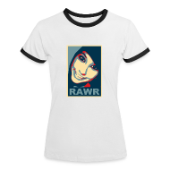 T-Shirts ~ Women's Ringer T-Shirt ~ Boxxy Poster
