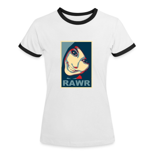 Boxxy Poster - Women's Ringer T-Shirt