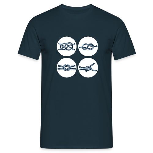 T-shirt homme marine Val de Loire - T-shirt Homme