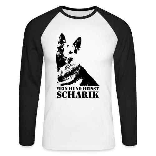 Vier Panzersoldaten und ein Hund Scharik Langarm T-Shirt - Männer Baseballshirt langarm