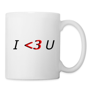 I love you - Tasse