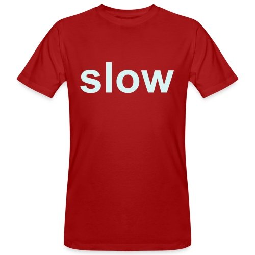 slow/fast - Men's Organic T-Shirt