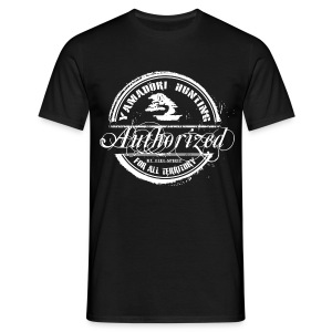 Tampon Yamadori Hunting Authorized - T-shirt Homme