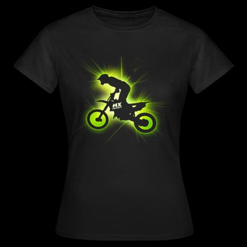 Laser 2011 Green femme - T-shirt Femme