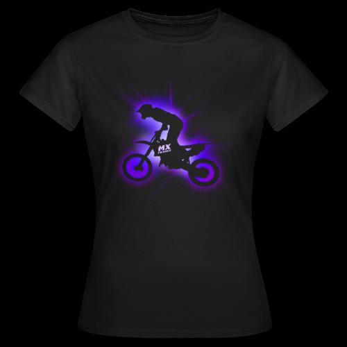 Laser 2011 Purple femme - T-shirt Femme