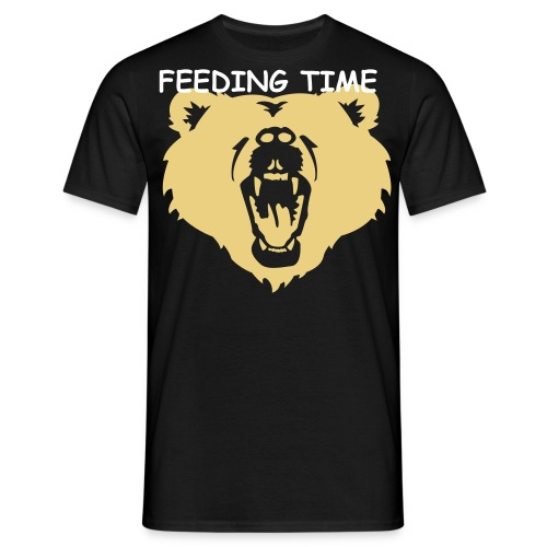 Feed the Bear - Men's T-Shirt