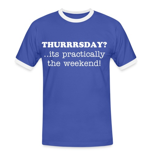 Thurrrsday - Men's Ringer Shirt
