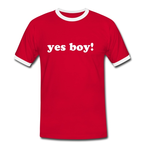 Yes Boy - Men's Ringer Shirt
