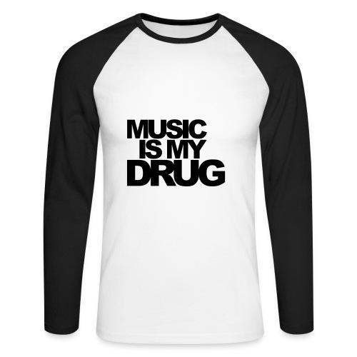 MUSIC.... - Maglia da baseball a manica lunga da uomo
